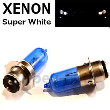 P15D-25-1 35/35w Super White Xenon Upgrade Headlight Bulbs Motorcycle Bike H6M