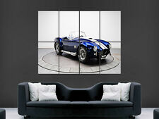 SHELBY COBRA CAR SPORTS  WALL POSTER ART PICTURE PRINT LARGE  HUGE