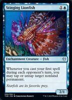 MTG x4 Stinging Lionfish Theros Beyond Death Uncommon NM/M