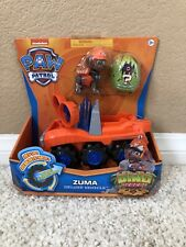 Paw Patrol DINO RESCUE ZUMA Deluxe Rev Up Vehicle & Figure Nick Jr