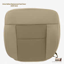 2004 2005 2006 Ford F150 FX4 Quad Cab Front Driver Bottom Tan Cloth Seat Cover