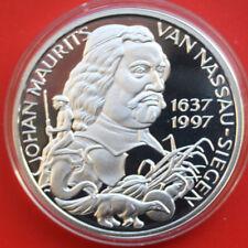 Netherlands-Niederlande: 25 ECU 1997 Silber Proof Coin, #F 1848, rare