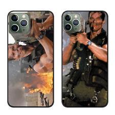 IPhone 11, PRO, MAX caso a prueba de impactos Cubierta Arnold Schwarzenegger COMMANDO ROCKET