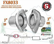 "3"" Semi Direct Fit Exhaust Flange Rear of Y-Pipe Repair Kit w/ Hardware FX8033"