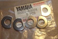 YAMAHA WJ500  WR650  FX700  GENUINE NOS HULL DECK WASHERS x5 - # 90201-09924