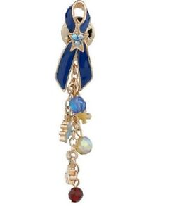 April is National Autism Awareness Month From KIRKS FOLLY Tac Pin Goldtone NEW