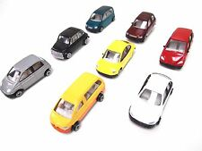 1 set 8 pcs 1:50 Metal Model Cars for O scale Model train layout