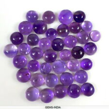 2.5 Mm Natural Amatista púrpura Profundo redondas de cabujón Joya Piedra Preciosa