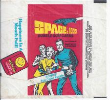 1976 DONRUSS NON SPORT TRADING CARD WRAPPER SPACE 1999 TV SHOW