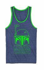 Star Wars Boba Fett Logo Adult Tank Top