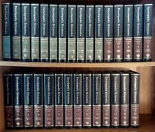 The New Encyclopedia Britannica 15th Ed 30 Vol Complete Set Padded Leather '77