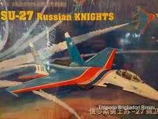 Su-27 Russian Knights 1:48 plastic model Kit Trumpeter 80304