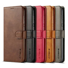 For Samsung Galaxy A20e Retro Leather Wallet Flip Case Stand Phone Cover