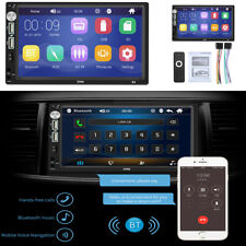 Bluetooth 2Din 7inch Touch Screen Car Stereo MP5 Player AM FM Radio mirror link