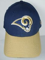 ST. LOUIS RAMS NFL Football NEW ERA 39THIRTY HAT CAP Large-XLarge EMBROIDERED