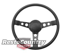 Holden GTS Monaro Sports Steering Wheel PLAIN CAP HQ HJ HX HZ WB Torana LJ LH LX