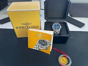 Breitling Professional Men's Blue Dial Watch - E75362