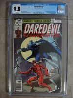 DAREDEVIL #158 NM/MT (9.8) CGC NEWSSTAND! 1st Frank Miller! Marvel KEY! 1979