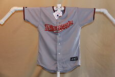 "MINNESOTA TWINS  Majestic ""Desert Camo"" JERSEY  Youth Medium   NWT   $45 retail"