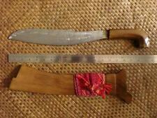 "19.5"" Basilan Yakan Pira Mangrove Wood Moro Sword Knife Tausug Barong Kris"