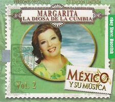 Margarita La Diosa de la Cumbia Mexico y su Musica Vol 2 Box set 3CD New