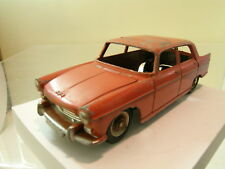 DINKY TOYS JUNIOR  F No.101 PEUGEOT 404 RARE MODEL COLOUR ORANGE-RED SCALE 1:43