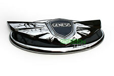 HYUNDAI GENESIS Coupe Chrome EMBLEM Grill&Trunk badge Genuine OEM Parts ~2013