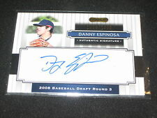 DANNY ESPINOSA SIGNED AUTOGRAPHED RAZOR CERTIFIED AUTHENTIC BASEBALL CARD /1499