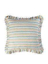 C&F Home Natural Shells European Pillow Sham in Blue/Beige
