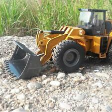 HUINA 583 1:14 GRC Bulldozer Engineering Vehicle Building Excavator Car Truck