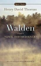 Walden and Civil Disobedience by Henry David Thoreau (Paperback, 2012)