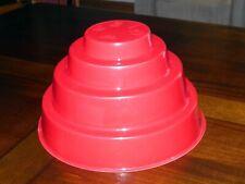 Devo Original Red Energy Dome With Brent Scrivner Sticker 1980/81 Very Good Cond