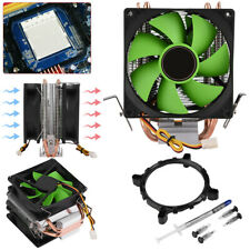 Dual Fan LED CPU Air Cooler Heatsink for Intel LGA775/1156/1155 AMD AM2/AM2+/AM3