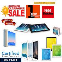 New Apple iPad Air Pro mini 2,3,4 16GB/32GB/64GB/128GB WiFi+4G   1 YEAR WARRANTY