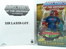 MOTUC Masters of the Universe Classics Sir Laser-Lot Loose with box complete