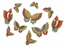 Lot de 10 Patch Thermocollant en tissu Papillon Iron-on patch Butterfly n°2