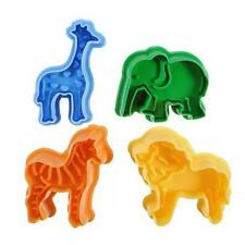 Africa Zoo Animal Cookie Cutter Biscuit Safari Giraffe Mold Elephant Zebra Lion