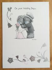 "'On Your Wedding Day' Card - Me To You - Tatty Bear - 6.75""x4.75"""