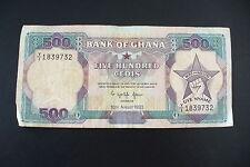 ANCIEN BILLET  GHANA   - 500 CEDIS  1993  - A VOIR  - !!!
