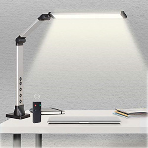 LED Desk Lamp with Clamp, Adjustable Swing Arm Lamp, Dimmable Eye-Care Table 3