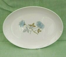 "Wedgwood Ice Rose bone china oval serving platter - 35 cms (14"") - R4306"