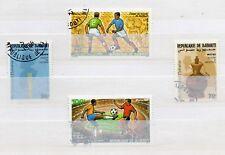 Yibuti Deportes Mundia de Futbol Mexico año 1988 (DQ-116)