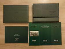 Bentley Azure Owners Handbook/Manual and Wallet