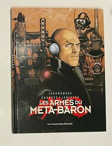 WEAPONS OF THE META BARON Travis Charest French Hardcover HC Rare Art Artist