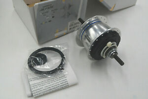 SHIMANO Nabe ALFINE Di2 8-Gang SG-S505 DISC 36L. 187x135mm silber