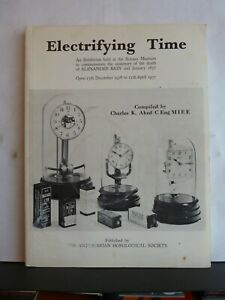 ELECTRIFYING TIME - EXHIBITION CATALOGUE - CHARLES K. AKED Paperback 1976