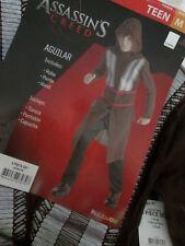 ASSASSIN'S CREED Aguilar TEEN COSTUME M NEW 3pc Robe Pants Hood Youth Medium NWT
