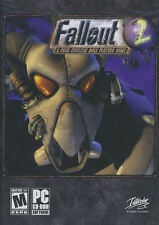FALLOUT 2 Fall Out II A Post Nuclear Role Playing Game RPG PC Game US Ver. NEW!