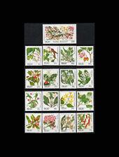 PALAU, Sc #126-42, MNH, 1987-88, Flora, Flowers, Plants, AR6REID