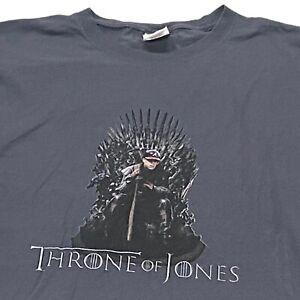 "Chipper Jones ""Throne of Jones"" Custom T-Shirt (XL) Atlanta Braves"